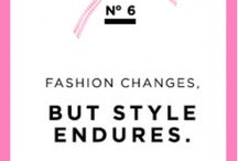 French Fashion / chanel's rules
