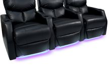 Space Savers Home Theater Seats / Featuring Space-Saver Seats from 4seating.com #hometheater #hometheaterseating #hometheaterseats