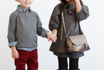 """Chic and sophisticated: looks for holiday family photos / """"What-to-wear"""" inspiration for your holiday family photos."""