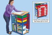 Teacher On The Go / Organization and ideas to help make a travelling teacher's life easier.