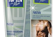 MENS HAIR REMOVAL CREAM TOP TEN DEPILATORYwith SHEA BUTTER APPLE EXTRACT  #TopTen