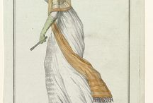 Projects: 1790s white gown