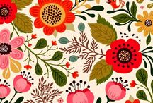 Motif bunga Sheika