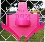 PINK IN OCTOBER / The pink DOM dugout organizer