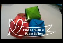 Origami Tutorial Video