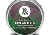 Beard Balms by Fit for Vikings / Here are the beard balms that are handmade by Fit for Vikings