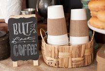 Coffee shop party