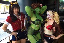 Dc&Marvel cosplay