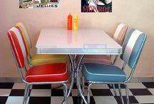 Vintage dining