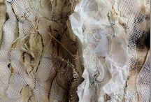 burning textile