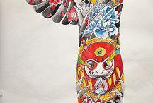 Plaatjes  / Tattoo / by Bas Kerkdijk