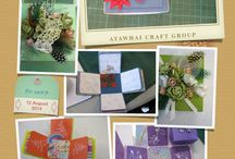 Grow Creative / Cards and Crafts made by members.
