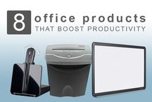 Work Productivity / Tips for how to stay productive at work.