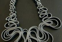 Zipp neklace, bracelet