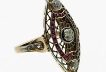Anillos / Anillos de Numinsa: Anillo art decó, anillos vintage, anillos modernos