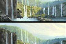 Concept Art Landscapes & Sceneries