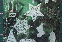Ornaments - crochet