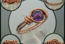 Wire Wraps - Tuts - Rings / by Sherry Fox