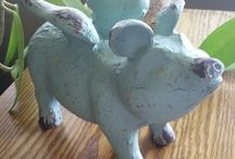 A Touch of Whimsy / Adding a touch of whimsy to any decor keeps it fun, interesting & unexpected!