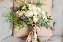 INSPIRATION | White Bouquets / Pure, clean and delicate white bridal bouquets