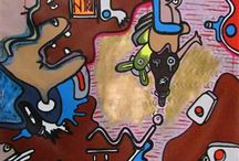 Angolan Artists / A collection of works from the Angolan artists represented by Agora Gallery!