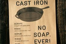 cast iron care and cooking