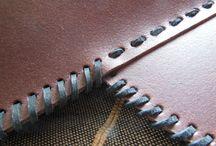 Belt Quiver / Leather belt quiver.