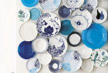 thuis met Moon * tea cups & plates