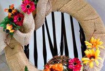 Autumn Decor, Crafts & DIY