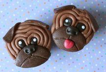 Beestenboel! / Wie houdt er nu niet van dieren? Maak eens een cupcake van  van een hond of een cakepop van een schaap! Meer ideeën vindt je hier.