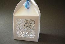 porta confetti e paper box