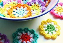 Crochet garland/bunting