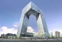 CCTV gebouw / Architect: Rem Koolhaas Locatie: Peking