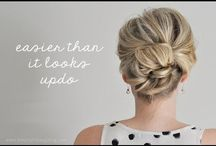 Hairdos & Makeup / Ideas for hair - no hair dresser needed.