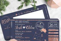 Wedding - invitations (destination)