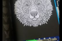 Complicated Animals / Complicated Animals Coloring Book by Complicated Coloring