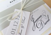 Wedding invitations by Eaton Stationery / At Eaton we design and produce a beautiful collection of wedding invitations and wedding day stationery. All stationery is loving produced in our studio in Nottingham, UK.