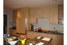 BIAW Awards Entry 2007 / Chermak Construction, Inc. A kitchen with an eye to being environmentally friendly.  The existing kitchen cabinets, hardwood flooring and even the existing granite countertops were all recycled into other residential remodeling projects (Photos #3 & #6).