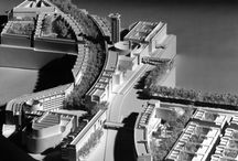 RM 1990 Sextius-Mirabeau Master Plan Aix-en-Provence, France / RICHARD MEIER