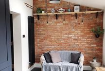 exposed wall