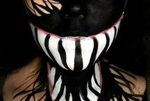 horror face paints