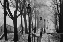 Paris Then & Now / Black-and-White Photos of the City of Light.