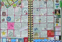 Journal Inspirations / These are art journal inspirations I want to try.