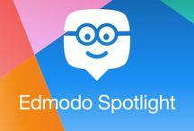 "Edmodo Spotlight / Edmodo Spotlight is full of resources for teachers on Edmodo. ""Let your best resources shine - upload them to Edmodo Spotlight for other educators to discover and share! spotlight.edmodo.com"""