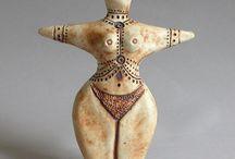 figuras ceramica / figuras, muñecas, shamánicas,antropomorfas, precolombinas,