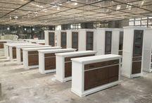 Blick hinter den Produktionsvorhang / Neue Serien und Blicke in die Fertigung neuer Produkte