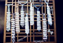 tie / by Erin Krohn