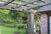 Pergolas and outdoor kitchen / by Stacey MacDonald