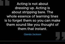 acting / performance