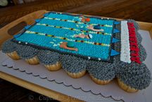 Swim Style Cakes / Cupcakes / by Tanya Sima
